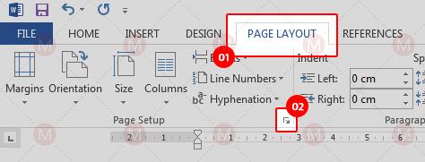 Menyatukan page layout pada Word