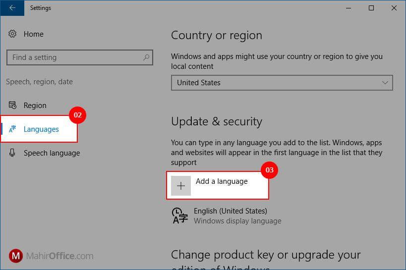 Menambahkan bahasa Arab pada Windows 10