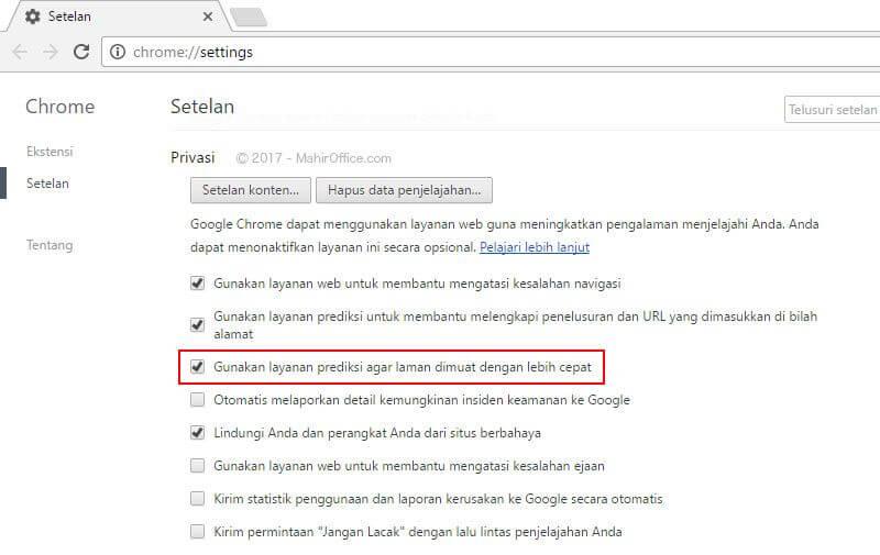 Matikan fitur ini pada Google Chrome