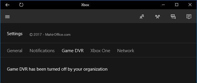 Aplikasi XBOX pada Windows 10
