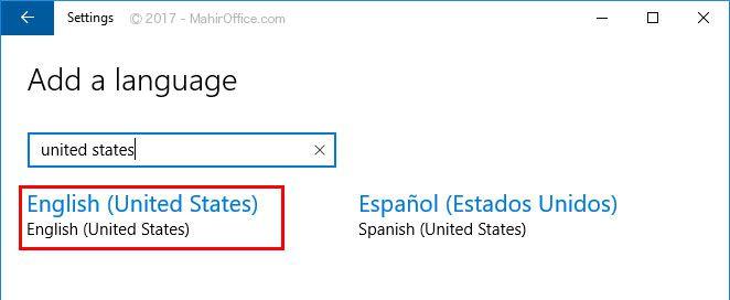 Merubah bahasa pada Windows 10