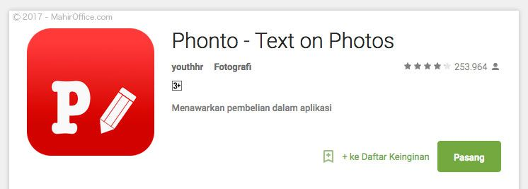 Phonto - Text on Photos