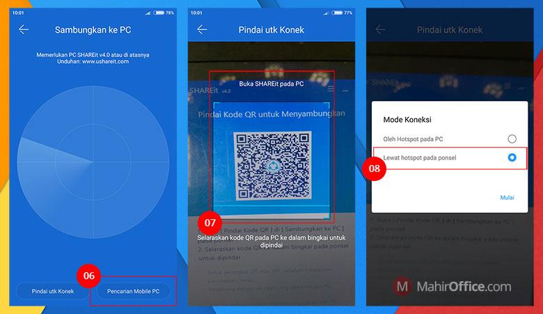 Cara mengirim file dari Android ke PC