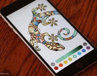 Aplikasi mewarnai Android
