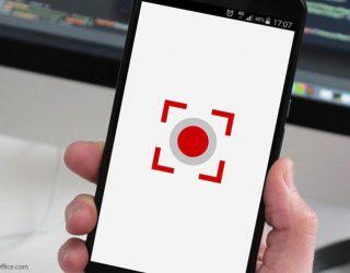 Aplikasi rekam layar Android