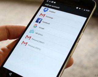 Menghapus akun Google dari Android