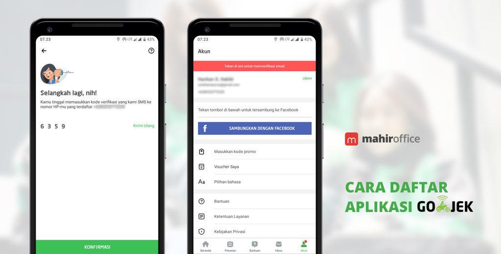 Cara Daftar Aplikasi GO-JEK Mudah & Cepat