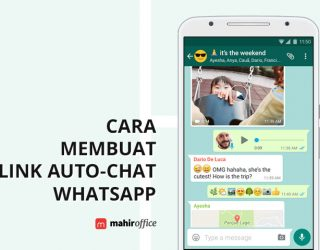 Cara membuat Link Auto-Chat WhatsApp