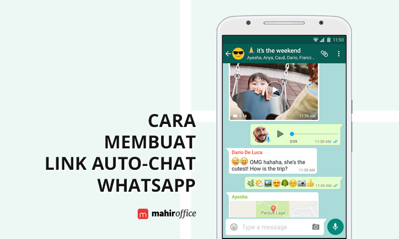 Cara membuat Link Auto-Chat WhatsApp untuk Bio IG dan Jualan