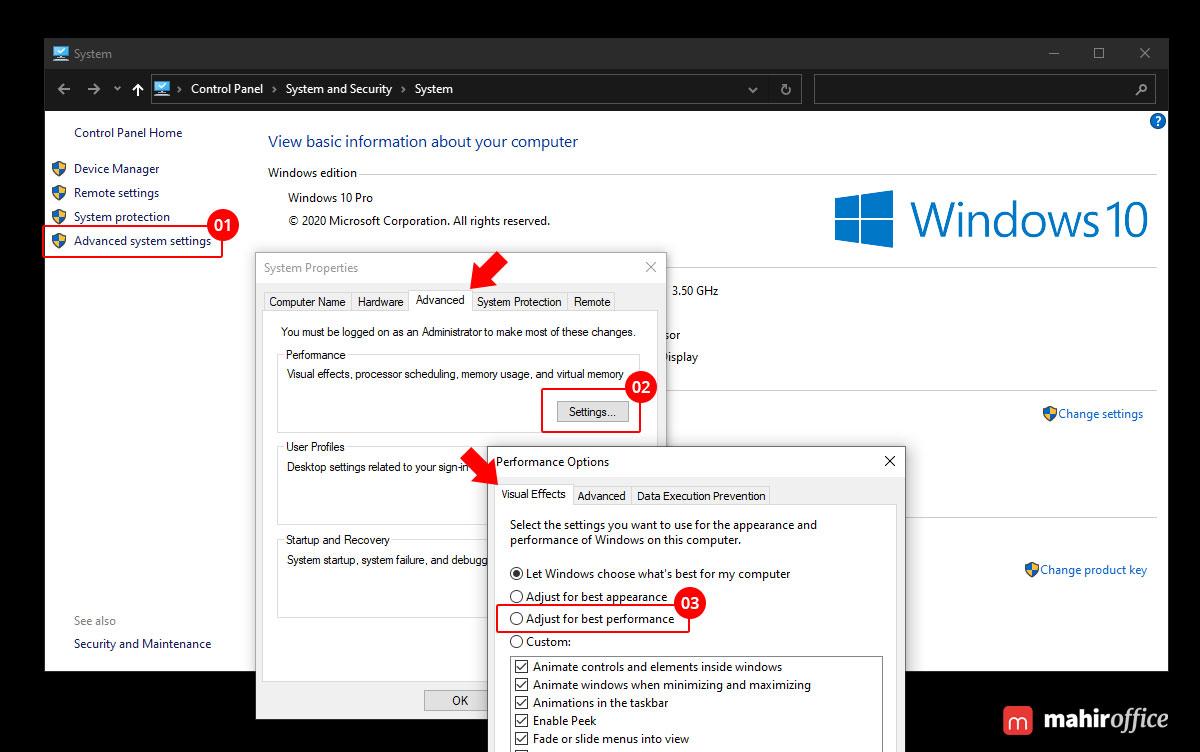 meningkatkan performa windows 10