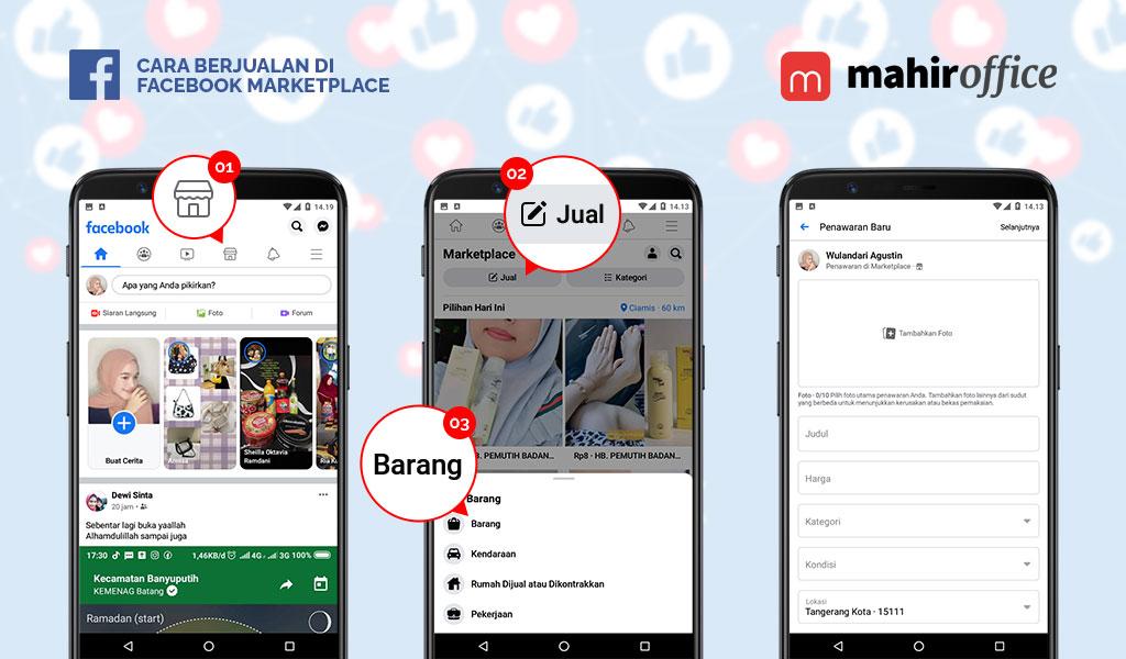 Cara meningkatkan penjualan di Facebook Marketplace